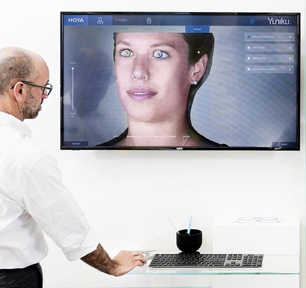 """Occhiale realizzato con approccio """"vision-centric"""""""